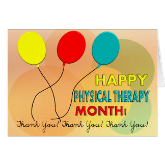 National Physical Therapy Month Card 7