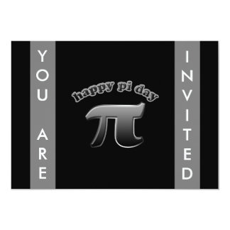 National Pi Day Pi Symbol for Math Nerds March 14 13 Cm X 18 Cm Invitation Card