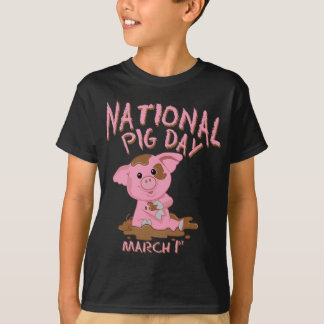 National pig day T-Shirt