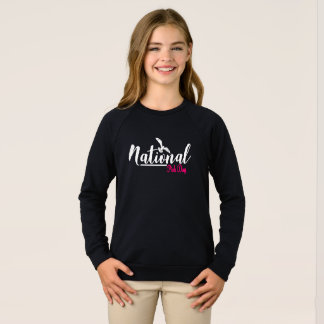 National Pink Day Raglan Sweatshirt