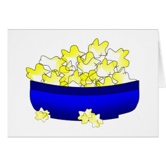 National Popcorn Popping Month Card