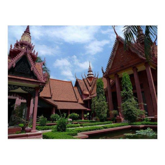 National Postcard Museum off Cambodia in Phnom