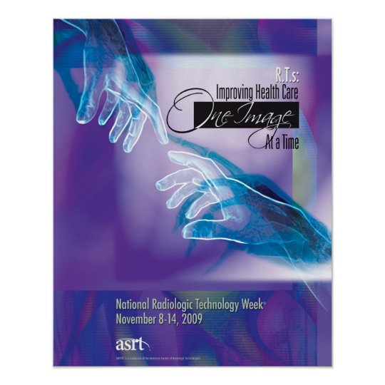 National Radiologic Technology Week 2009 poster