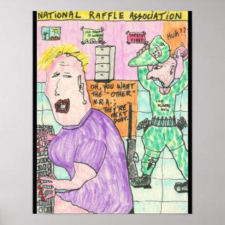 National Raffle Association Print