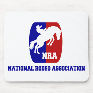 National Rodeo Association Mouse Pad