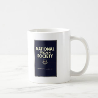 National-Sarcasm-Society Coffee Mug