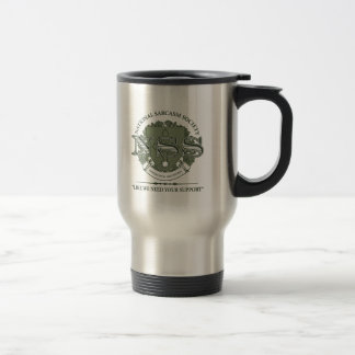 National Sarcasm Society Stainless Steel Travel Mug