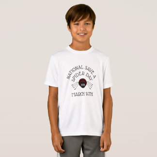 National Save a Spider Day march 14th Shirt