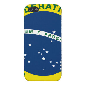 National Seal of Brazil iPhone 5/5S Cases