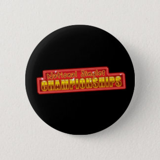 National Singles Championships 6 Cm Round Badge