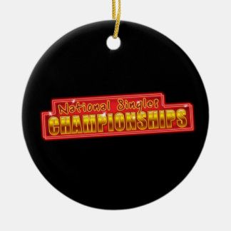 National Singles Championships Christmas Ornament
