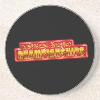 National Singles Championships Coaster