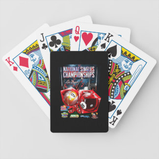 National Singles Championships - Dice Design Bicycle Playing Cards