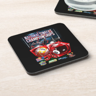 National Singles Championships - Dice Design Drink Coasters