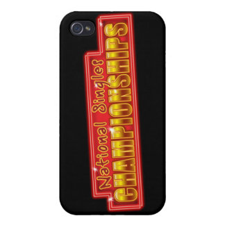 National Singles Championships iPhone 4 Case