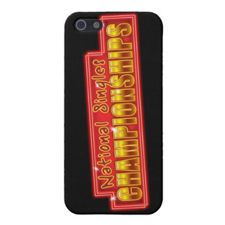 National Singles Championships iPhone 5 Covers
