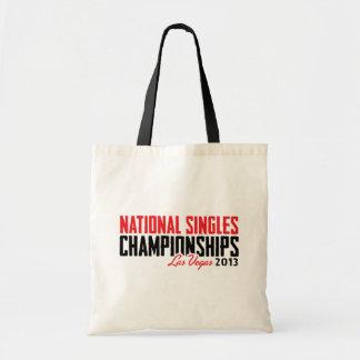 National Singles Championships Las Vegas 2013 Tote Bags