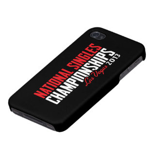 National Singles Championships Las Vegas 2013 Case For The iPhone 4