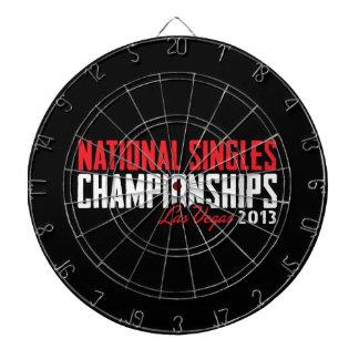 National Singles Championships Las Vegas 2013 Dartboard
