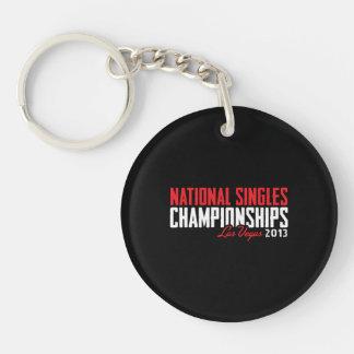 National Singles Championships Las Vegas 2013 Acrylic Keychains