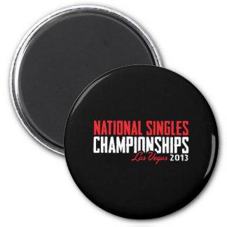 National Singles Championships Las Vegas 2013 Magnet