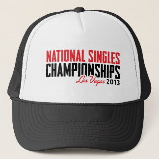 National Singles Championships Las Vegas 2013 Trucker Hat
