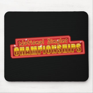 National Singles Championships Mouse Mat