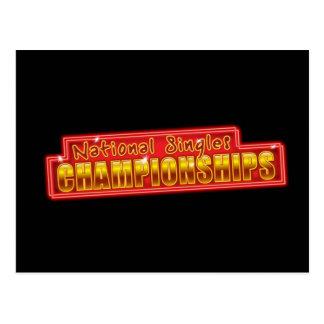 National Singles Championships Postcard