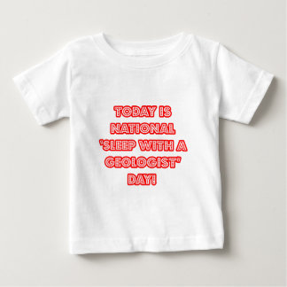 National 'Sleep With a Geologist' Day Tshirt