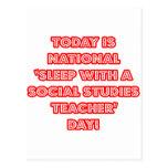 National 'Sleep With a Social Studies Teacher' Day