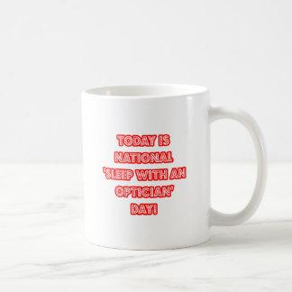 National 'Sleep With an Optician' Day Basic White Mug