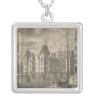 National Soldiers Home, Milwaukee County Silver Plated Necklace