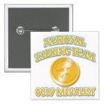 National Talking Team Gold Medallist Badges