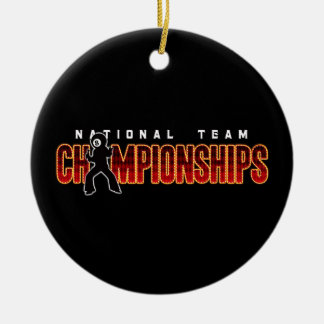 National Team Championships 2 Christmas Ornament