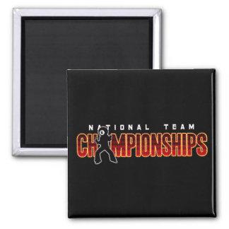 National Team Championships 2 Magnet