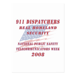 National Telecommunicators Week 2008 Postcard