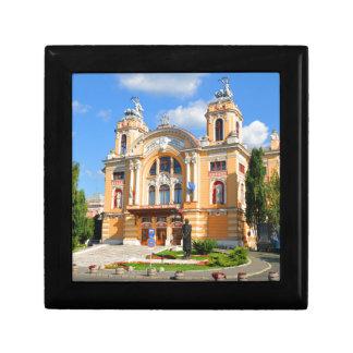 National Theatre and Opera in Cluj Napoca, Romani Small Square Gift Box