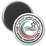 National Transitional Council of Libya Seal Fridge Magnets