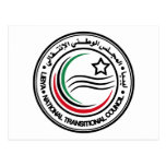National Transitional Council of Libya Seal Postcard