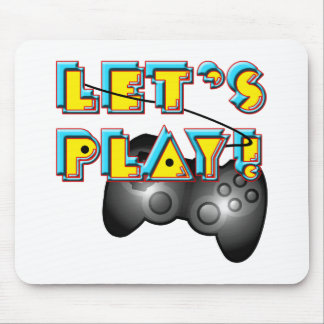 National Video Games Day - Let's Play! Mouse Pad