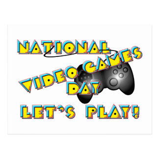 National Video Games Day Postcard