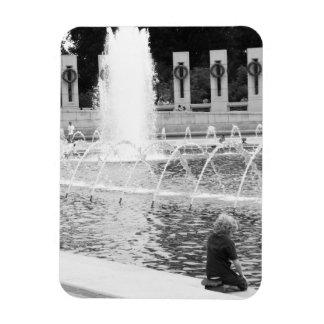National War Memorial Rectangular Photo Magnet