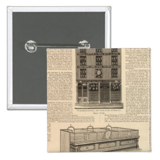 National Wire and Lantern Works, Howard and Morse 15 Cm Square Badge