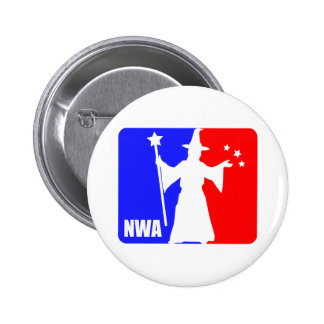 National Wizard Association 6 Cm Round Badge