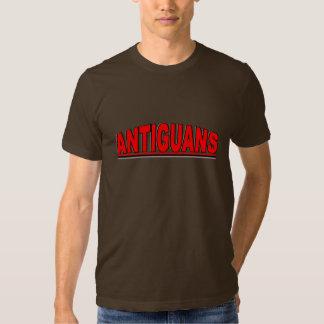 """Nationalities - """"Antiguans"""" Shirt"""