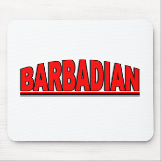 "Nationalities - ""Barbadian"" Mouse Pad"