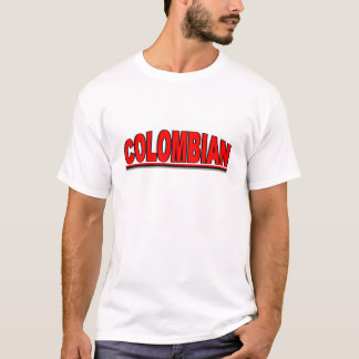 """Nationalities - """"Colombian"""" T-Shirt"""