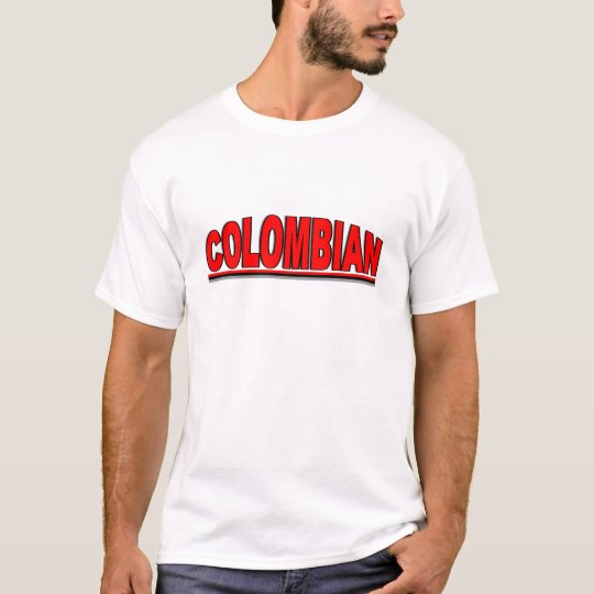 "Nationalities - ""Colombian"" T-Shirt"