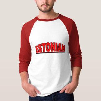 "Nationalities - ""Estonian"" T Shirts"