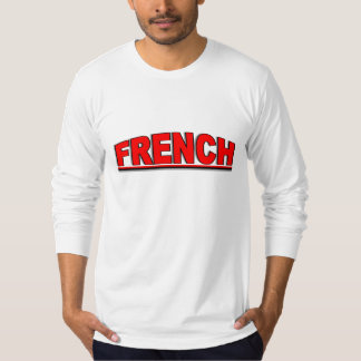 "Nationalities - ""French"" T-Shirt"